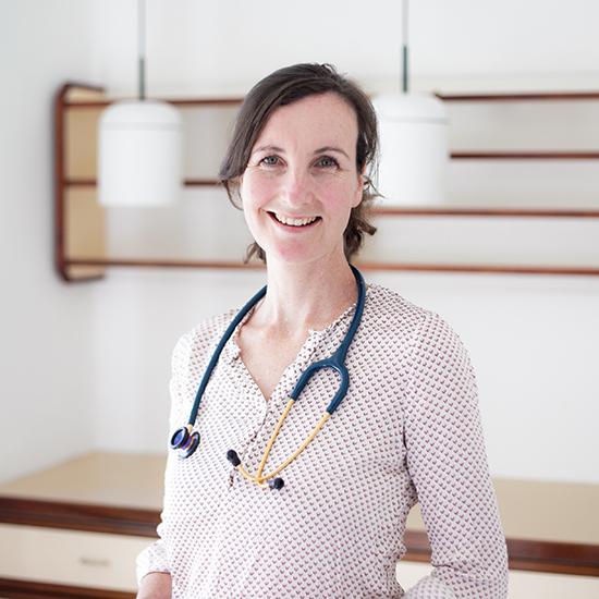 Kinderaerztin Dr. Christine Moser
